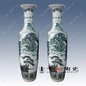 陶瓷花瓶 装饰瓷大花瓶定制
