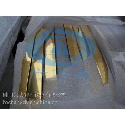 佛山厂家供应304不锈钢钛金管