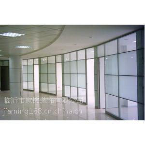 供应供应济宁玻璃隔断 高隔间