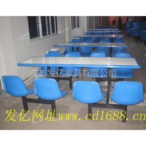 供应玻璃钢食堂餐桌椅、工厂食堂餐桌椅、快餐桌椅价格