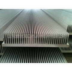 供应6063-T5散热器厂家  直径550mm散热器铝材