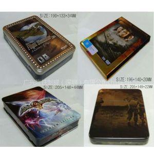 供应马口铁CD盒、VCD拉链盒、DVD铁盒、药品盒、曲奇饼干盒