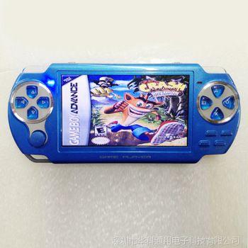 全新设计MP4游戏机 MP5 PMP PSP掌机 内置2000游戏 RMVB RM FM