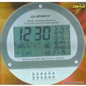 供应深圳特力电器供应阿拉伯穆斯林祈祷钟丨朝拜钟表 大圆钟