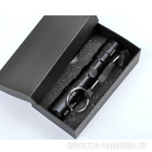 供应特价铝合金LED迷你强光小手电筒批发 家用LED强光礼品小手电