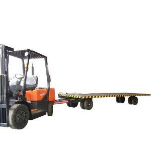 供应中德重科通过CC认证重型大吨位 平板拖车