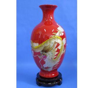 供应家用花瓶/结婚花瓶/婚庆花瓶/麦杆画陶瓷花瓶