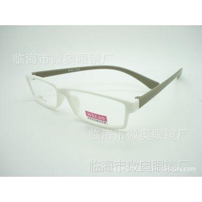 【微奥眼镜】2013年新款TR90框架眼镜超轻非主流批发店面3012