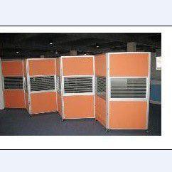 供应厂家定制 移动折叠屏风 办公隔断屏风图片