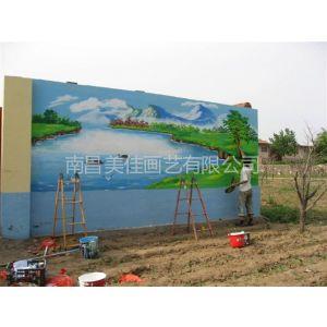 供应吉安 井冈山 泰和 文化墙 酒店古建筑门楼彩画彩绘供应