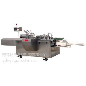 供应青岛日清VCN60卧式物品包装自动装盒机