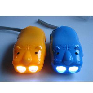 供应新款LED手压充电老虎手电筒