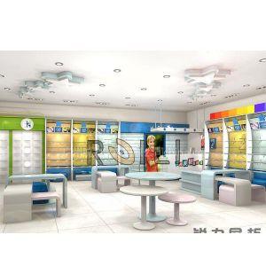 广州锐力 供应国内外童装展示柜母婴店展柜