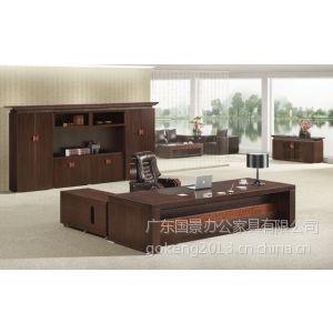 贵州实木办公桌椅销售,老板办公家具配套方案,国景家具