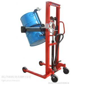 供应佛山顺德厂价供应手动油桶升高车、手动搬运车、电动叉车