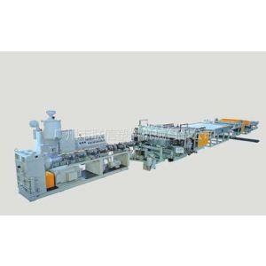 供应供应中空板挤出设备,中空格子板板材挤出机生产线