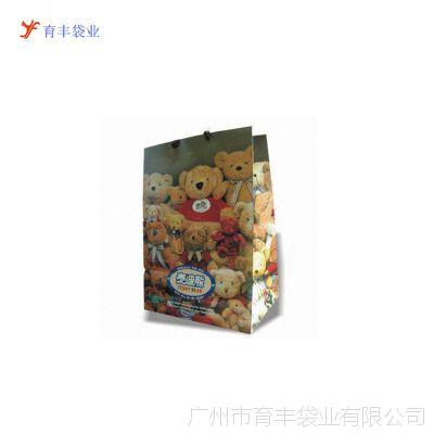 供应广州直接厂家定制250克铜版手提纸袋包装纸袋按规格定做一千起订