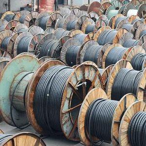 供应宁夏银川 低压铝芯电力电缆 库存批发 YJLV22 3*300+1*150