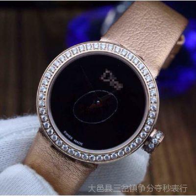 批发供应进口品牌 新款瑞士石英女士手表 镶钻流行手表女