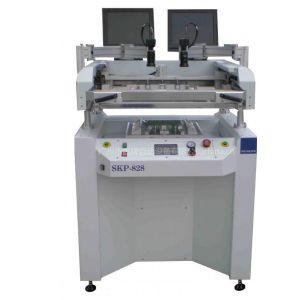 煌牌贴片机供应LED贴片机半自动锡膏印刷机