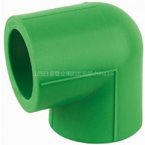 厂家供应 家装用绿色ppr管件 绿色ppr弯头