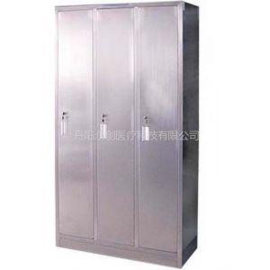 供应不锈钢更衣柜(三门/六门)