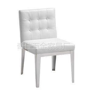 供应AA-10031餐椅、不锈钢餐椅、时尚餐椅、酒店椅、洽谈椅、会所椅、餐桌椅、布艺真皮椅、五金餐椅.