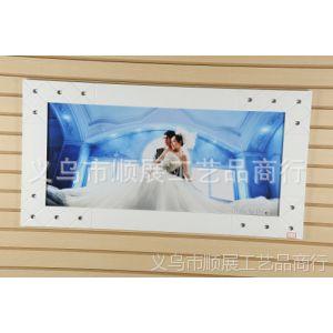 供应厂家直销 精美高档白色婚纱照相框 烤漆相框 影楼相框 可定制