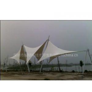 供应公园景观遮阳张拉膜结构