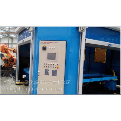 供应汽车底盘焊接机器人工作站