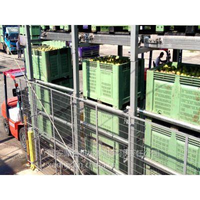 西安鼎合40T翻筐翻箱卸料除杂输送设备