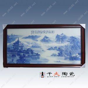 供应陶瓷工艺画 手绘瓷板画