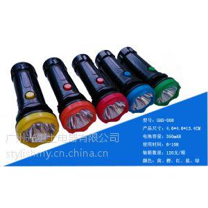 供应广东那里可以定制礼品手电筒 新款迷你塑料充电手电筒 007