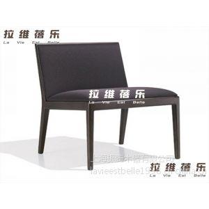 供应简约皮艺椅 布艺椅 实木餐椅 实木休闲椅 大坐深 上海定做