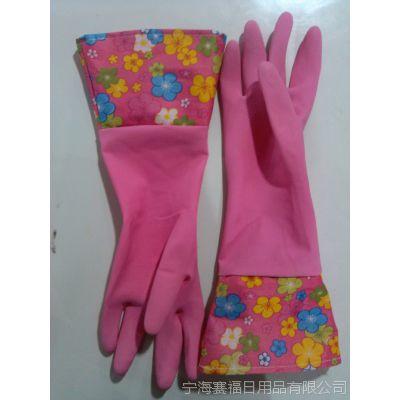 定做耐磨手套 加厚 保暖手套 胶皮手套 洗碗保暖 家务手套出口
