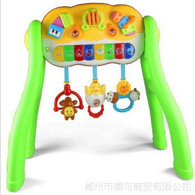 正品五星婴儿玩具 多功能健身架 宝宝健身器音乐架 37721