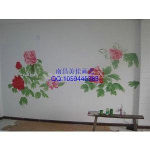 供应江西南昌电视机背景墙彩绘 手绘墙专业供应!与时尚同居!