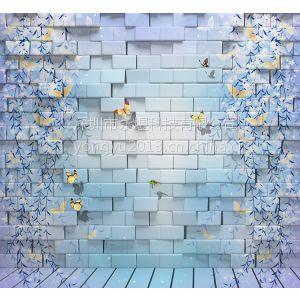 供应欧式3d墙纸 中国古典壁画 家装背景墙 主题工程无缝墙布