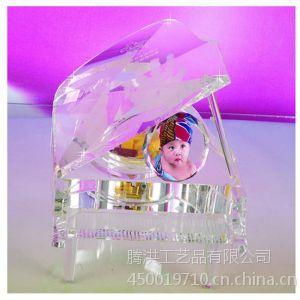 定制水晶钢琴纪念品,水晶礼品厂家
