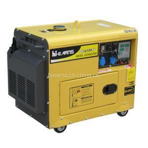 5KW 60HZ静音发电机组DG6500SE 带数码面板