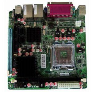 供应Mini-ITX G41双千兆网卡2串口双显示主板(WTM-G4V)