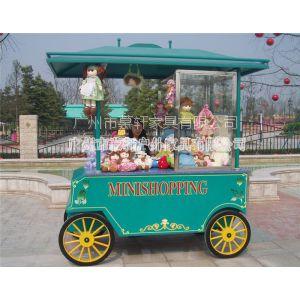 供应木制商业街售卖车订做 公园可移动售货车工艺 广州售货车价格