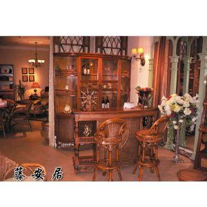 柜台/椅子/餐厅家具/藤椅/藤家具(E-5179)