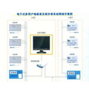 供应电子式多用户电能表及其抄表系统