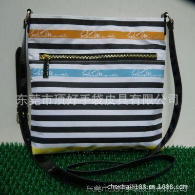 畅销新款条纹女士挎包、时尚休闲女包系列  条纹帆布包