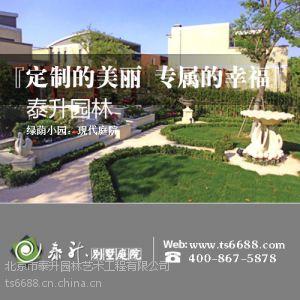 供应庭院景观设计 泰升园林 提供多种风格庭院