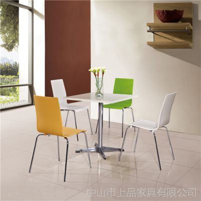 厂家直销北京[SP-CT518]简约风格经济实惠夜市小吃店美食广场成套桌椅