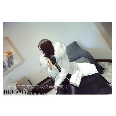 浙江杭州四季青时尚女式外套时尚热销棉衣秋冬外套便宜毛呢外套时尚