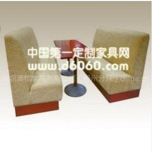 供应防火板快餐厅桌椅