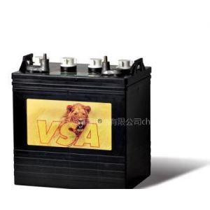 厂家供应高尔夫球车电池8V150AH